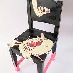 Vampire židlička